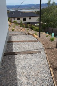 Tasmanian sleeper and gravel design