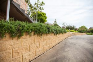 Block retaining wall Launceston