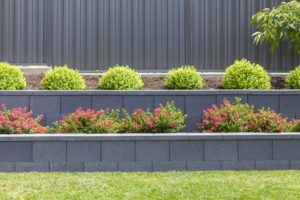 simple retaining wall block