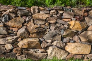 stone wall landscapes