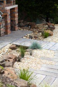 rockwork with pavement in launceston