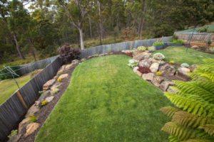 backyard lawn lay turf launceston