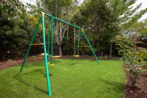 yard maintenance turf swing set launceston