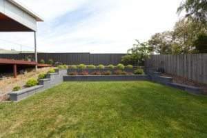 block retaining wall, pavers, paving, launceston, riverside, mowbray