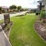 garden edging, edge, lawn, boundary, landscaping, launceston